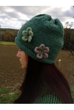 Cappello  Verde Vintage